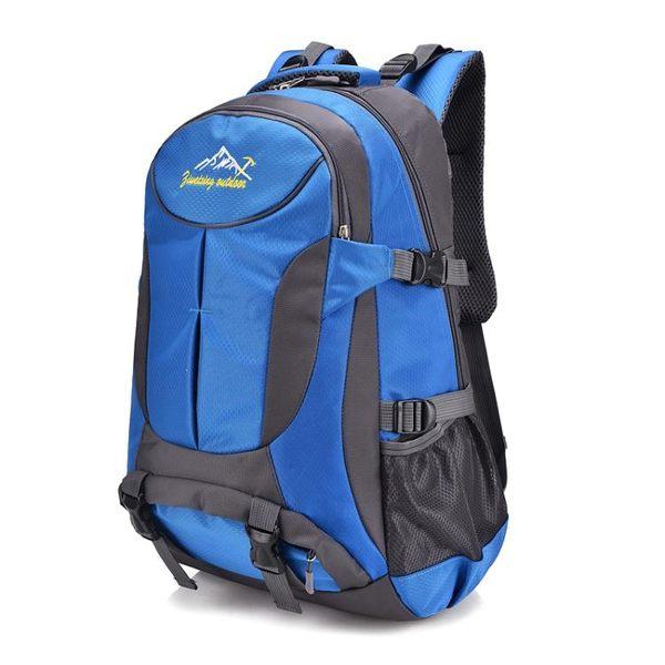 後背包 新品男士後背包大容量登上包男休閒旅行電腦包女正韓潮戶外旅遊包