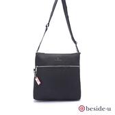 beside u BOS 直立式素色簡約斜肩包側背包 – 黑色 原廠公司貨