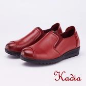 kadia.懶人鞋-質感素面休閒鞋(9056-60紅色)