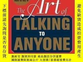 二手書博民逛書店The罕見Art Of Talking To Anyone: E