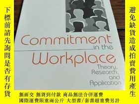 二手書博民逛書店Commitment罕見in the WorkplaceY181