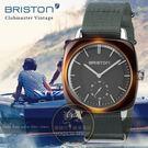 BRISTON法國精品品牌Clubmaster Vintage獨立小秒針時尚腕錶117440.SA.TV.17.N公司貨