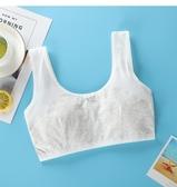 抹胸 少女內衣發育期初高中學生抹胸小背心9-12-14-16歲女孩大童棉文胸 多款