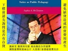 二手書博民逛書店America罕見According To Colbert: Satire As Public Pedagogy