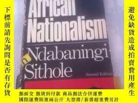 二手書博民逛書店Afpican罕見Nationalism[書令有破損】Y2171