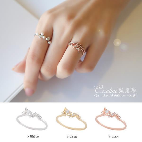 《Caroline》★【一片好景】甜美魅力、迷人風采無限動人時尚戒指68785
