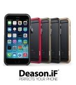Deason iF iPhone6 鋁合金邊框 Bumper 磁鐵吸扣 保護殼 附透明背蓋