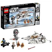 LEGO 樂高 Star Wars: The Empire Strikes Back Snowspeeder-20th Anniversary Edition 75259 Building Kit (309 Piece)