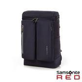 單一特價★Samsonite RED  BOLTTON  造型潮流中性休閒筆電後背包14 (深藍)