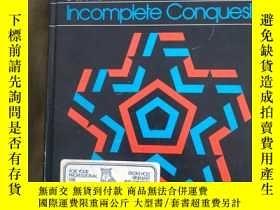 二手書博民逛書店(英文原版書)American罕見Government Incomplete Conquest:精裝16開厚冊(含