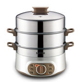 電蒸鍋多功能家用自動斷電大容量蒸籠蒸菜器蒸汽220V    伊芙莎YYS