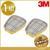 【醫碩科技】3M-6003 有機酸性氣體 濾毒罐 噴農藥使用 適用6200/7502口罩 1包2入