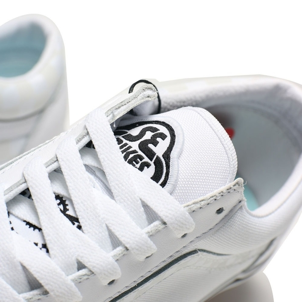 VANS 休閒鞋 板鞋 STYLE 36 SE BIKES 聯名 白 反光 棋盤格 男女 (布魯克林) VN0A54F64YS