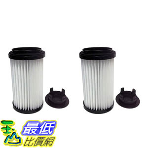 [106美國直購] 2 Filters for Kenmore Vacuums; Comes with Removable Endcap to convert to either DCF-1 or DCF-2