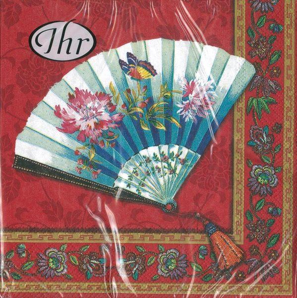 新貨到!扇-德國 IHR 餐巾紙(33x33cm)
