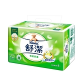 舒潔棉柔舒適抽取衛生紙90抽x8包(蠶絲蛋白)
