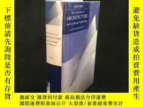 二手書博民逛書店2006年罕見A Dictionary of Architect
