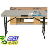 [COSCO代購] W119706 Lifetime 4 呎折疊桌 #80370 19入