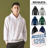 素色連帽刷毛帽T【BS-J6335】(ROVOLETA)