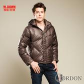 JORDON 男款 極暖羽絨外套 防潑水 高充絨 973