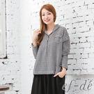 【UFUFU GIRL】100%純棉開襟排釦襯衫,寬版剪裁穿搭休閒風!