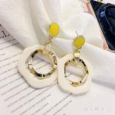 耳環 2019新款女小眾氣質長款耳飾超仙耳墜個性法式耳釘 QX5093 【棉花糖伊人】