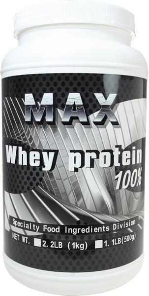 MAX 麥斯 分離乳清蛋白 美國進口Hilmar 2.2磅 (1KG) 原味 健身 重訓首選