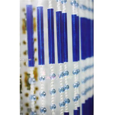微笑城堡[開運水晶簾95長珠](每條每米150元)窗簾 門簾(華麗訂製)獨家產品(全國最低價)10條起售