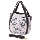 日本 Hello Kitty 兩用托特包 手提袋 斜揹包 包包