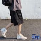 多口袋工裝短褲男夏季休閒五分褲寬褲薄款中褲子【英賽德3C數碼館】