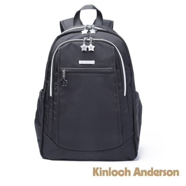 金安德森Kinloch Anderson 城市酷玩 中性簡約後背包-黑色