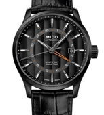 MIDO美度錶Multifort 雙時區自動機械錶(M0384293605100)黑/42mm