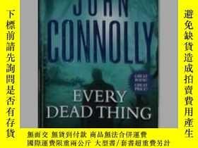 二手書博民逛書店英文原版罕見Every Dead Thing by John C