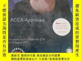 二手書博民逛書店罕見!ACCA Approved for exams from