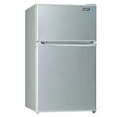 SAMPO聲寶【SR-A10G】100L雙門小冰箱