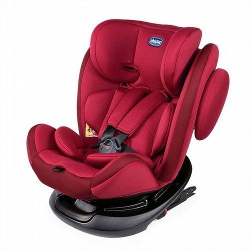 Chicco Unico 0123 Isofit 安全汽座/安全座椅-熱情紅[衛立兒生活館]