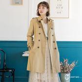 CANTWO經典雙排釦風衣外套-共兩色