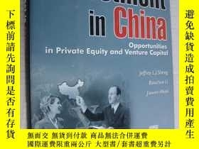 二手書博民逛書店INVESTMENT罕見IN CHINA:Opportuniti