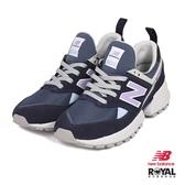 New Balance 新竹皇家 574 藍紫色 麂皮 網布 拼接 休閒運動鞋 女款 NO.I9505
