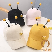 小蜜蜂帽子 兒童帽子薄款女童棒球帽男童鴨舌帽 網帽【宅貓醬】