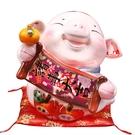 【金石工坊】己亥年生肖豬年-諸事大吉豬撲滿(大) 陶瓷撲滿擺飾