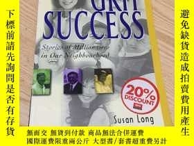 二手書博民逛書店GRIT罕見SUCCESS Stories of Million