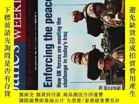 二手書博民逛書店Jane s罕見Defence Weekly 2004 02 4 簡氏防務周刊軍事學術英文雜誌Y14610