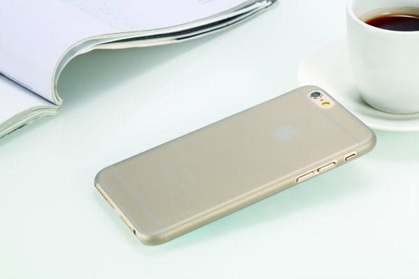 【免運費】Verbatim 威寶 iPhone 6  Ultra Slim Case 4.7吋 磨砂超纖簿保護殼(0.5mm)-透明灰色x1