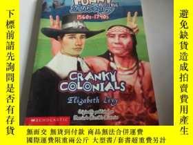 二手書博民逛書店CRANKY罕見COLONIALS(英文),Y200392 LE