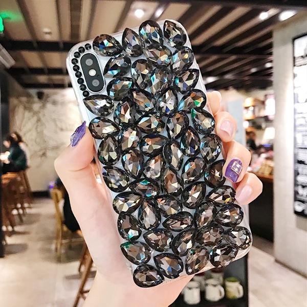 SONY Xperia10 II Xperia5 Xperia1 II XA2 Ultra XZ3 XZ2 L3 L2 方形水晶滿鑽 水鑽殼 保護殼 貼鑽殼 水鑽保護殼