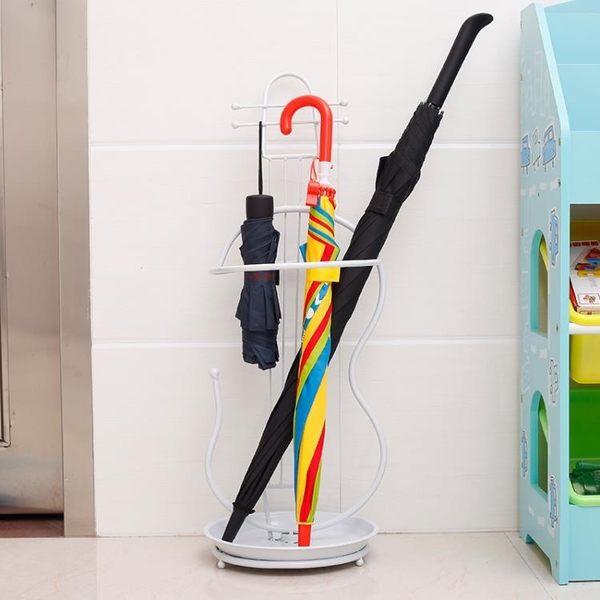 家用創意雨傘架放置雨傘的架子門口雨傘筒酒店大堂落地收納掛傘桶 雙11購物節