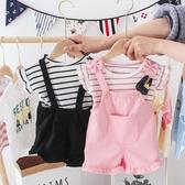 嬰兒夏裝套裝2-3一歲半女童夏季童裝女孩公主韓版1女寶寶夏天衣服 【快速出貨】