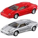 【 TOMICA火柴盒小汽車 】初回PRM12 +PRM12 藍寶堅尼 Countach 25週年紀念 / JOYBUS玩具百貨