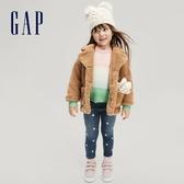 Gap女幼童 閃亮五角星印花鬆緊牛仔褲 631576-銀色星星